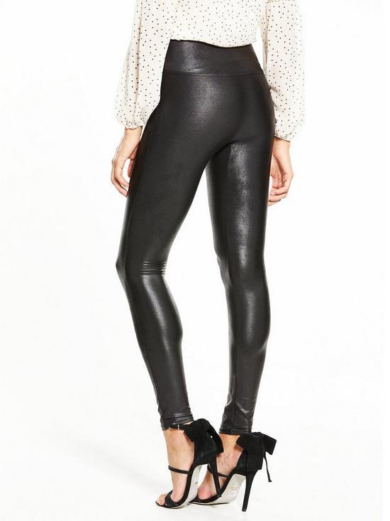 ffb4f320cbfb48 ... Spanx Faux Leather Leggings - Black. View larger