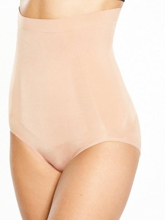 34770d409 Spanx Super Firm Control Oncore High Waisted Briefs - Soft Nude ...