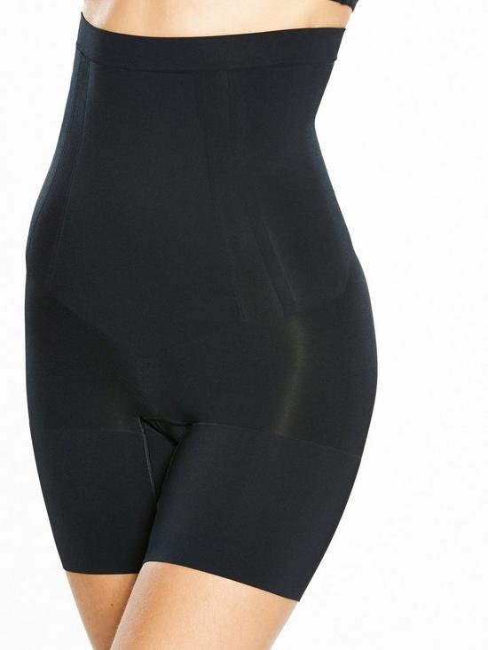 38d44e815 Spanx Super Firm Control Oncore High Waisted Mid Thigh Short - Black ...