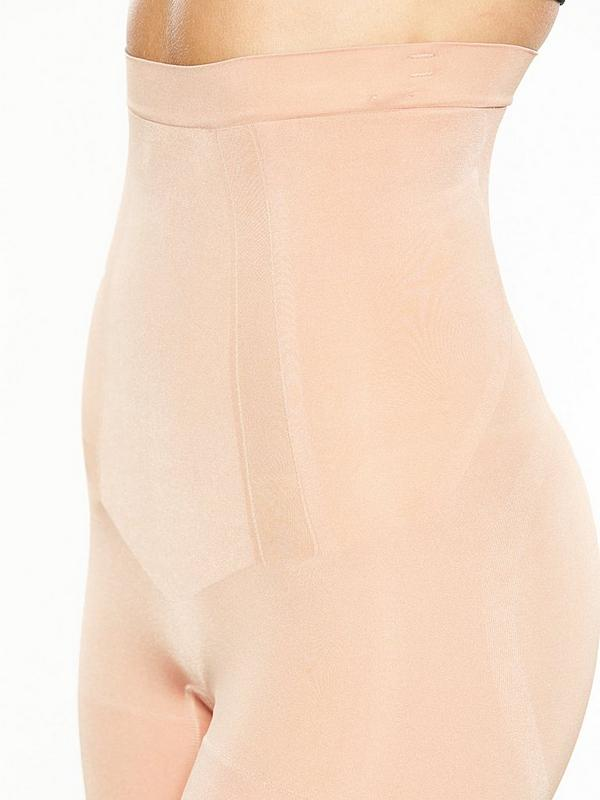 aec8217d0e4 ... Spanx Super Firm Control Oncore High Waisted Mid Thigh Short - Soft Nude.  £65.00. Swipe for more images. Double tap to zoom