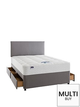 silentnight-miracoil-3-pippa-ortho-divan-bed-with-half-price-headboard-offer-buy-and-save