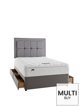 silentnight-miracoil-3-tuscany-latex-pillowtop-divan-bed-with-half-price-headboard-offer-buy-and-save