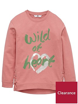 v-by-very-girls-wild-at-heart-eyelet-sweater
