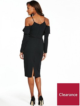 v-by-very-cold-shoulder-frill-pencil-dress
