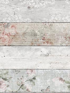 fresco-distressed-wood-floral-wallpaper