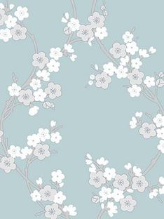 superfresco-cherry-blossom-teal-superfresco-colours-wallpaper