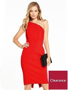 karen-millen-one-shoulder-angled-pencil-dress-collection