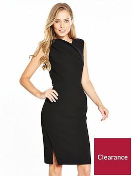 karen-millen-drape-detail-dress