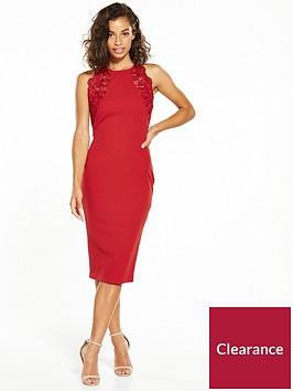 ax-paris-petite-lace-top-bodycon-dress-red