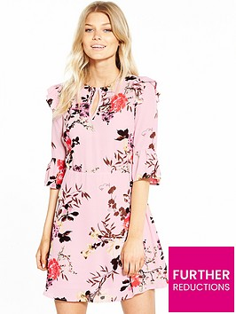 v-by-very-petite-printed-woven-day-dress