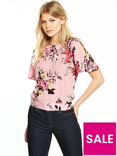 v-by-very-petite-printed-cold-shoulder-blouse