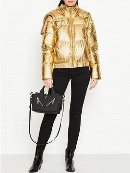 gestuz-metallic-paddednbspjacket-gold