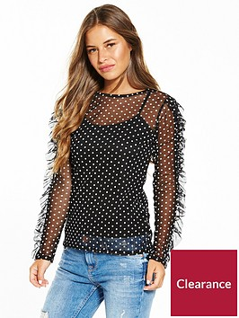 v-by-very-petite-long-sleeve-printed-mesh-top