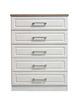 Swift Regent Ready Assembled 5 Drawer Chest