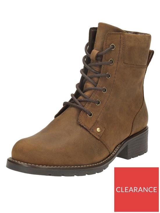 e277d4b35ebf7e Clarks Orinoco Spice Ankle Boot - Brown