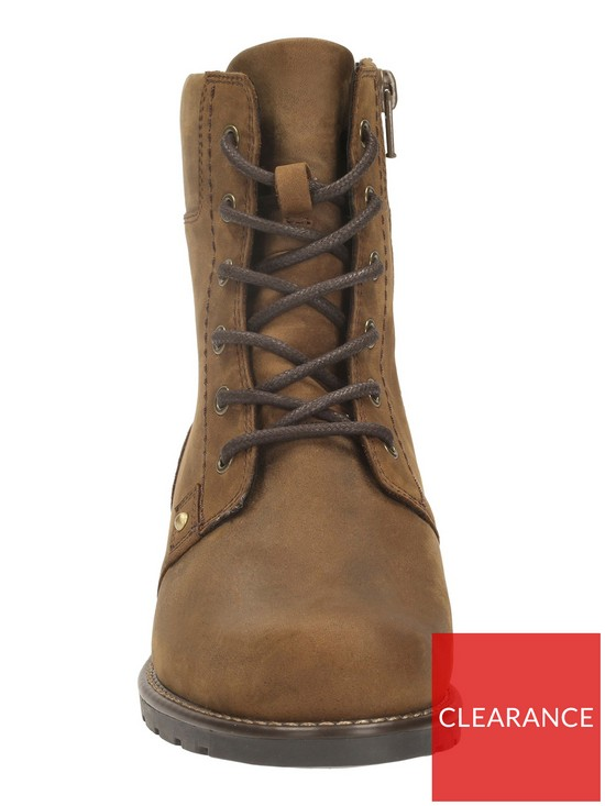 fb3f29c139a368 ... Clarks Orinoco Spice Ankle Boot - Brown. View larger