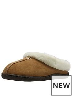 clarks-home-classic-faux-fur-slipper