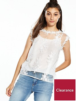 river-island-ivory-lace-top