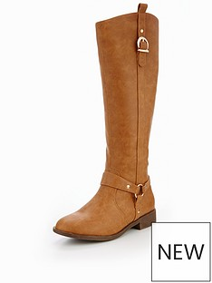 v-by-very-trudy-knee-high-flat-riding-boot-tan