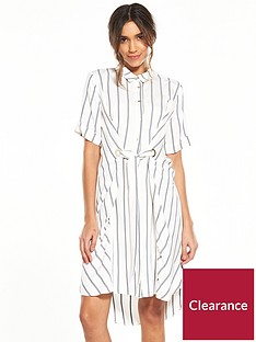 river-island-stripe-eyelet-shirt-dress