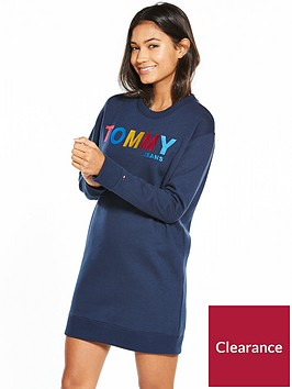 tommy-jeans-tjwnbsplong-sleeve-dress-navy