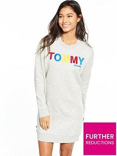 tommy-jeans-tjwnbsplong-sleeve-dress-light-grey-heather