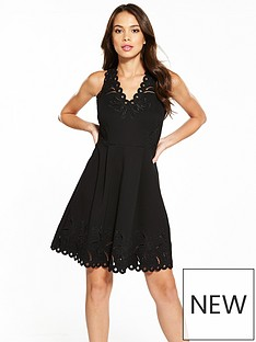ted-baker-emalise-v-neck-embroidered-skater-dress