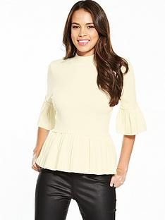 ted-baker-lislie-pleat-rib-detail-jumper