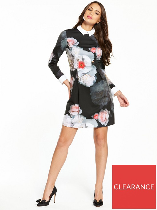 f5aea9139489 ... Ted Baker Kaleesa Chelsea Flower Collared Dress. View larger