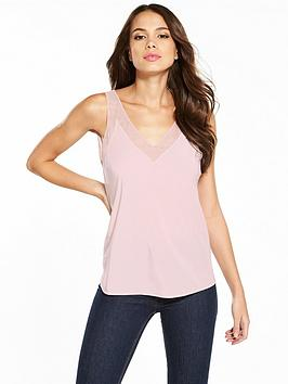 ted-baker-leiaa-v-neck-trim-cami