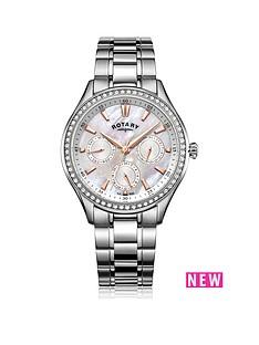 rotary-rotary-mop-dial-stone-set-bezel-chrono-silver-bracelet-ladies-watch