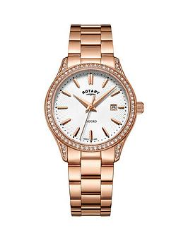 rotary-oxford-silver-dial-rose-gold-bracelet-ladies-watch