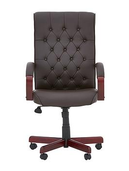 warwick-office-chair-brown