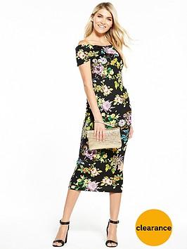 v-by-very-bow-bardot-bodycon-dress