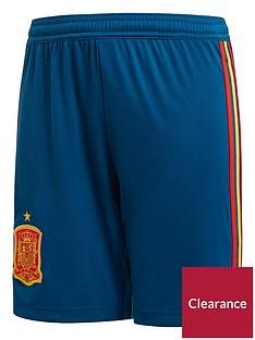 adidas-junior-spain-home-replica-shorts-blue
