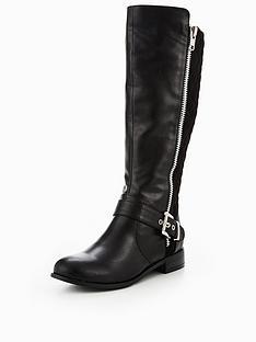 v-by-very-ophelia-zip-biker-detail-knee-boot-black