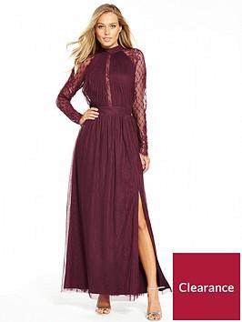 little-mistress-little-mistress-long-sleeve-lace-maxi-dress