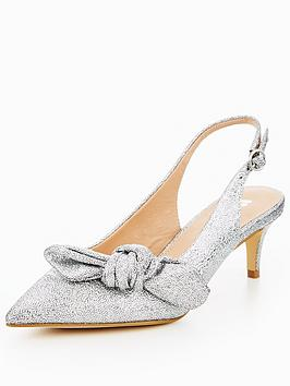 v-by-very-suki-slingback-bow-kitten-heel-silver