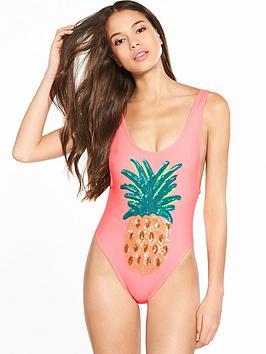 river-island-pineapple-sequin-swimsuit