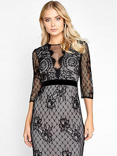 little-mistress-long-sleeve-lace-midi-dress-black