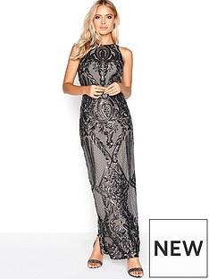 little-mistress-sequin-placement-dress