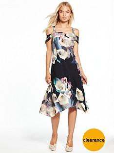 coast-lily-print-soft-shift-dress
