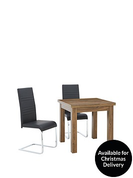 square-to-rectangle-80-160-cm-extending-dining-table-2-jet-chairs