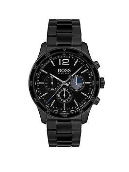 boss-hugo-boss-black-professional-black-dial-black-stainless-steel-bracelet-mens-watch
