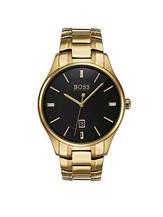 hugo-boss-black-governor-black-dial-stainless-steel-bracelet-mensnbspwatch