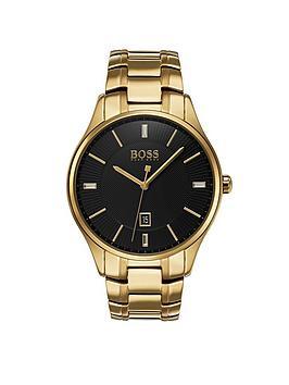 hugo-boss-black-governor-black-dial-stainless-steel-bracelet-mensnbspwatch