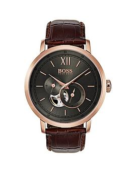boss-1513506-signature-grey-dial-brown-leather-strap-mensnbspwatch