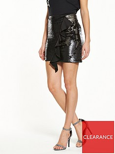 v-by-very-sequin-ruffle-skirt