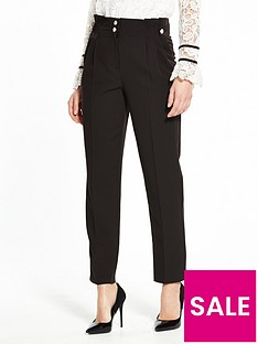 v-by-very-pearl-detail-tapered-leg-trouser