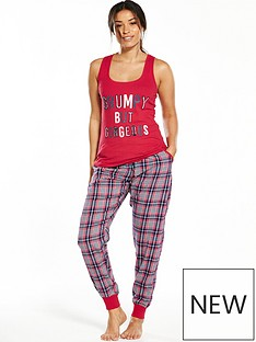 boux-avenue-boux-avenue-grumpy-but-gorgeous-vest-amp-check-pant